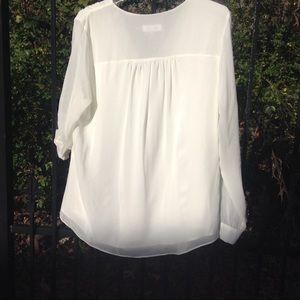 Calvin Klein  ivory blouse